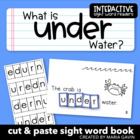 "Interactive Sight Word Reader ""What is Under Water?"""