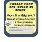 What is a Light Year Reading with calculation and comprehe