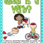 What is a verb?  Verb cards