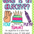 What is an adjective? Adjective cards
