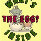 What&#039;s Inside The Egg? Fun Easter or Life Cycles Writing FREEBIE