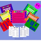 What's It Worth Alphabet Numerical Dice Game Grades K - 5