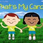 What's My Card? Engaging Interactive PowerPoint and Worksheets