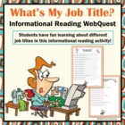 What&#039;s My Job? Occupational Titles Search Skills Google WebQuest