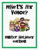 What's My Voice? Winter Holiday Edition