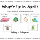 What's UP in April? Activities for all Month