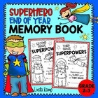 What's Your Superpower? {End of Year Memory Book for Secon