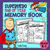 Superhero End Of Year Memory Book {Kindergarten & First Grade}