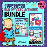 Superhero K-1 Memory Book, Writing Craft & Gifts Bundle}