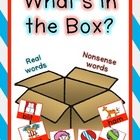 What's in the Box (Real vs. Nonsense Word Sort)