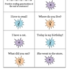 What&#039;s my Voice?  Fluency and punctuation practice