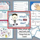 What's the BIG idea?-main idea activities