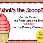 What&#039;s the Scoop? Current Events in the Primary Classroom