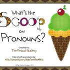 What's the Scoop on Pronouns? (Card Matching Activity)