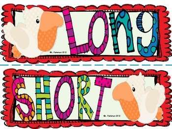 What's the Sound: Long and Short Vowels