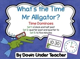 What's the Time Mr Alligator Dominoes