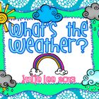 What&#039;s the Weather? Math &amp; Literacy Centers
