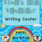 What's the Weather? Writing Center