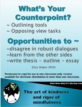What's your Counterpoint?  - Outlining Tools