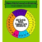 Wheel of 8th Grade Math Common Core Standards