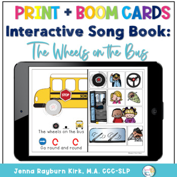 Wheels on the Bus: Interactive Adapted Book