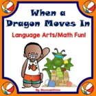 When A Dragon Moves In Picture Book Activities and Funsheets