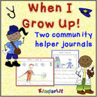 When I Grow Up! a writing journal