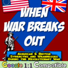 When War Breaks Out:  American and British Strengths and W