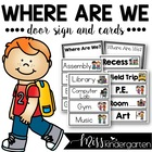 Where Are We Cards for the Classroom