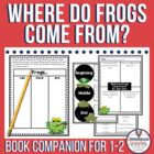 Where Do Frogs Come From Guided Reading Unit by Alex Vern
