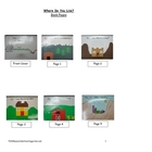 Where Do You Live? Landforms Book for Students to Make