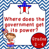 Where Does The Government Get Its Power? Lesson Plan