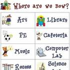Where are we now? Classroom Door Poster