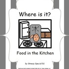 Where do we store food? An interactive kitchen book {speci