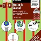 Where is Santa? A Fun Geography Activity on Latitude and L