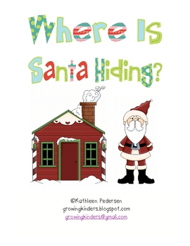 Where is Santa Hiding ~ A Sight Word Game