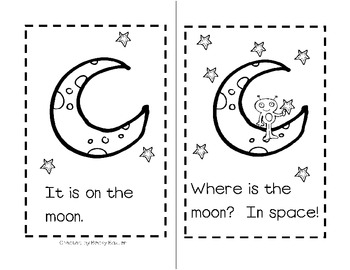 Where is the Astronaut? Sight Word Reader