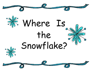 Where is the snowflake -- Big Book (color)