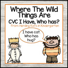 &quot;Where the Wild Things Are&quot;  I have...Who has..? CVC Word Game