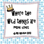 Where the Wild Things Are Mini Unit