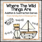 Where the Wild Things Are Roll &amp; Cover Addition &amp; Subtract