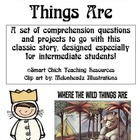 &quot;Where the Wild Things Are&quot;, by M. Sendak, Questions and Projects