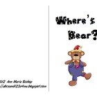 Where&#039;s Bear?  Interactive Positional Word Book
