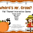 Where&#039;s Mr Crow? Interactive Fall Games