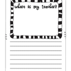 Where's My Teacher? Creative writing for Sub Tub