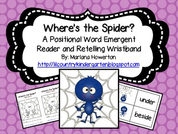 Where's the Spider? A Positional Words Emergent Reader and