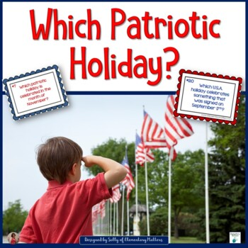 Which Patriotic Holiday?