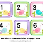 Whimsical Birdies Bird Calendar Set
