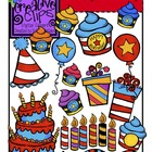 Whimsy Birthday {Creative Clips Digital Clipart}