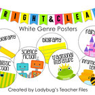 White Genre Posters (Bright &amp; Clear Decor)